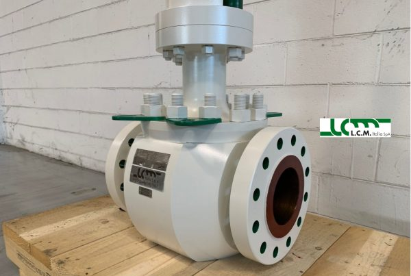 LCM RSBV Rising Stem Ball Valve