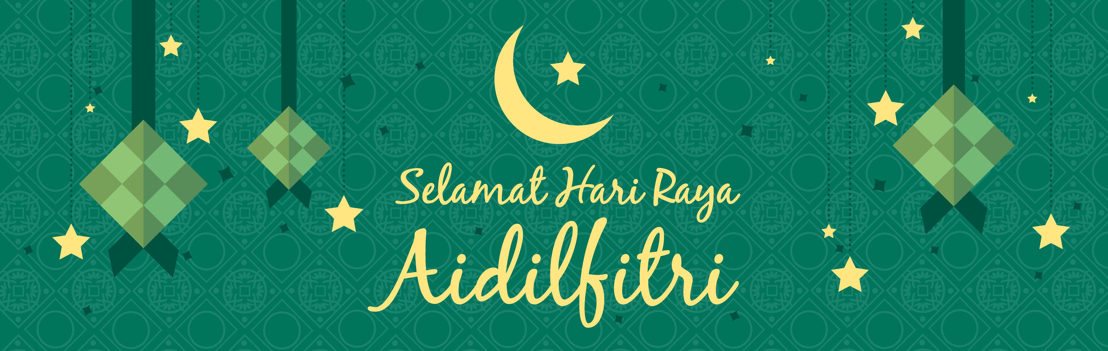 Wish everyone Selamat Hari Raya Aidilfitri!