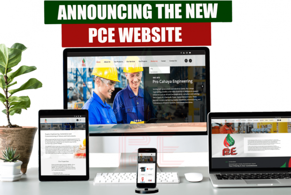 Pro Cahaya Engineering website